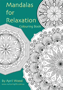 Mandalas for Relaxation by April Wood